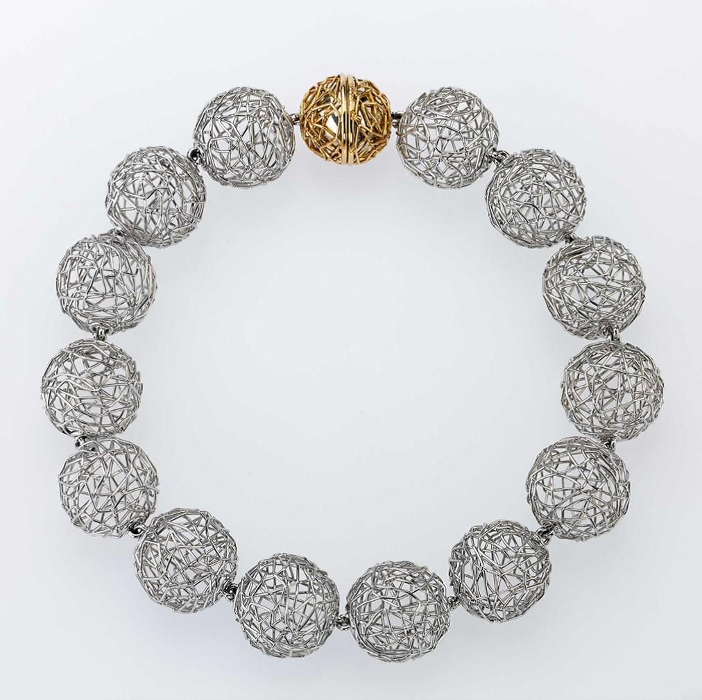 Bracelet Platinum 950/- Gold 750/-
